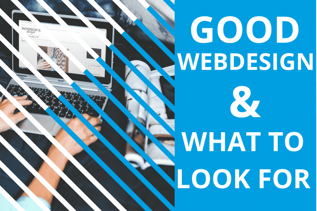 Good web design : what to look for!