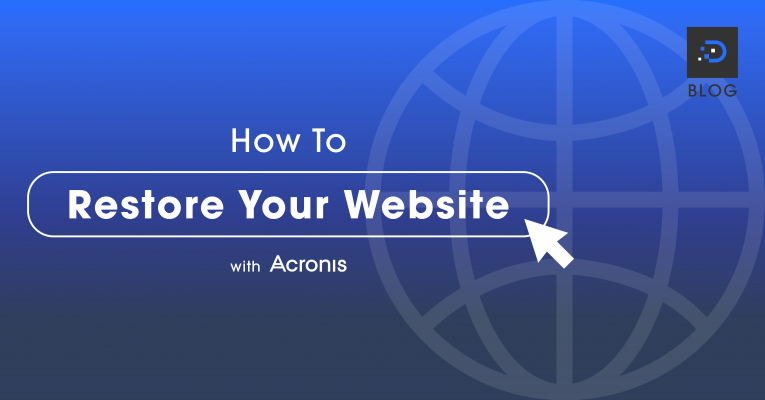 How To Restore Your Website