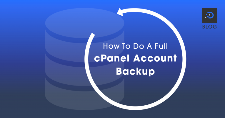 How To Do A Full cPanel Account Backup