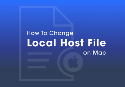 How To Change Local Host File on Mac