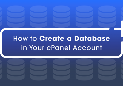 How to Create a Database in Your cPanel Account