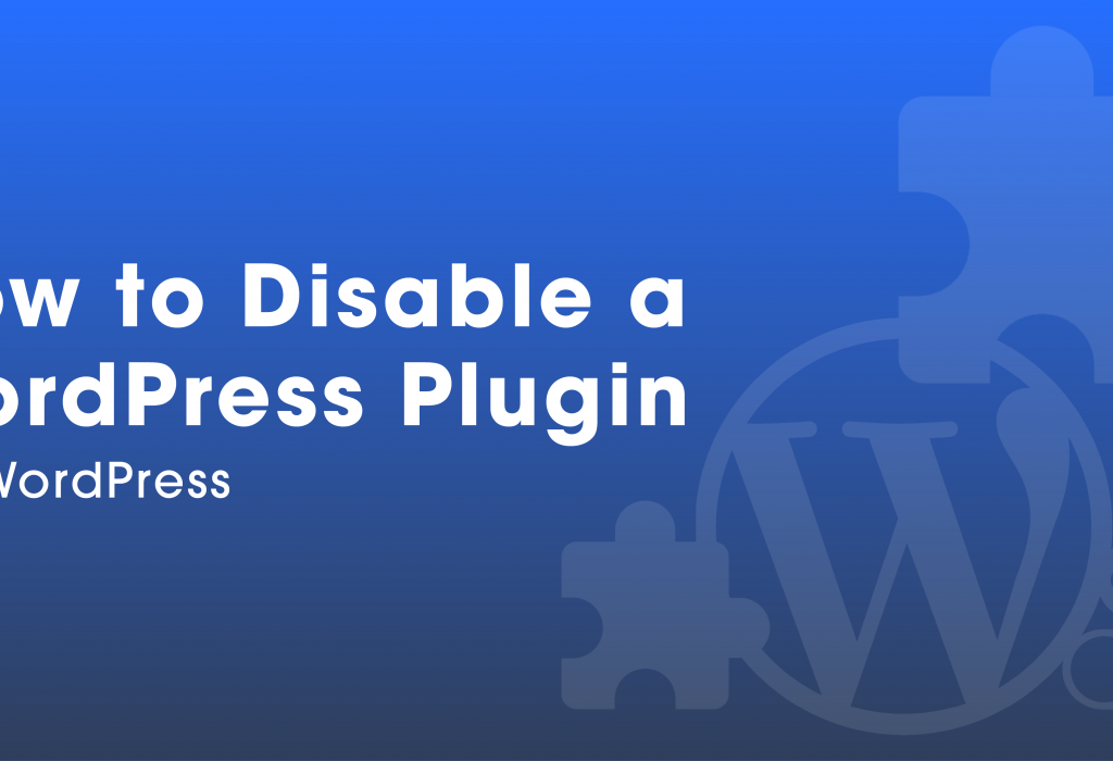 How to Disable a WordPress Plugin via WordPress